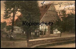 ALTE POSTKARTE WESTFÄLISCHES BAUERNHAUS Stempel Osnabrück 1910 Haus traditional house farm Bauernhof Ansichtskarte cpa