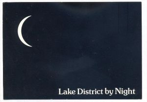 ÄLTERE POSTKARTE LAKE DISTRICT BY NIGHT bei Nacht nuit Humor Humour Mond moon lune cpa postcard AK Ansichtskarte