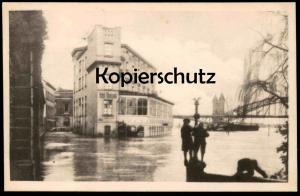 ALTE POSTKARTE BONN HOTEL RHEINECK HOCHWASSER-KATASTROPHE 1920 inondation flood cpa postcard AK Ansichtskarte