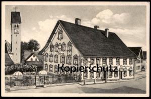 ALTE POSTKARTE ALTUSRIED OBERALLGÄU GASTHOF ZUM BÄREN Baeren Inh. Georg & Maria Immler Ansichtskarte postcard cpa AK