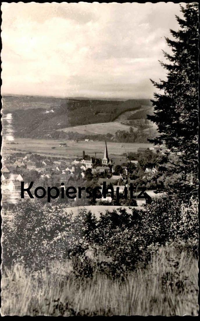 ÄLTERE POSTKARTE HÜSTEN SAUERLAND RUHRTAL BEI NEHEIM ARNSBERG Huesten Ansichtskarte AK cpa postcard