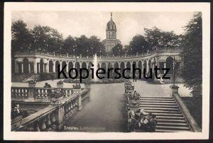 ALTE POSTKARTE BRESLAU LIEBICHSHÖHE 1940 Wzgórze Partyzantów Wroclaw Brassel Schlesien postcard Ansichtskarte AK