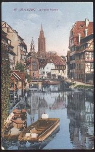 ALTE POSTKARTE STRASBOURG LA PETITE FRANCE ALSACE ELSASS FELDPOST 1941 STRASSBURG PFLANZBAD cpa postcard Ansichtskarte