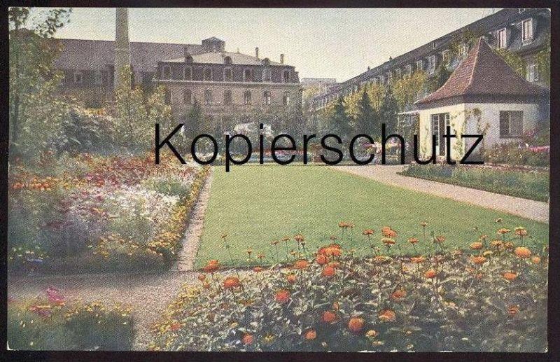 ALTE POSTKARTE STUTTGART GARTENBAUAUSSTELLUNG 1924 DER SONNIGE GARTEN GROTZ PFITZER Botanic Garden Jardin Botanique cpa
