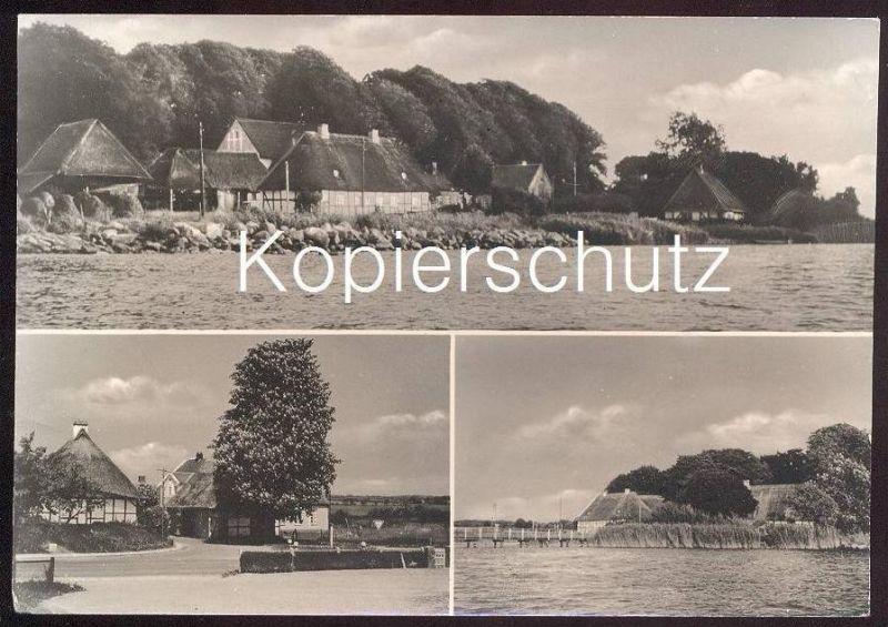 ältere Postkarte Sieseby Schlei Thumby Tumby Cpa Postcard