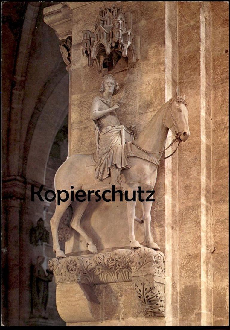 ÄLTERE POSTKARTE BAMBERG BAMBERGER REITER horseman cavalier monument cpa postcard AK Ansichtskarte