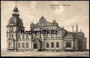 ALTE POSTKARTE LÜDENSCHEID SCHÜTZENHALLE 1912 Luedenscheid AK Ansichtskarte cpa postcard Bahnpost-Stempel