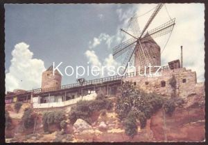 POSTKARTE SPANIEN WINDMÜHLE Spain espana Mühle windmill mill moulin à vent molen windmolen Ansichtskarte AK cpa postcard
