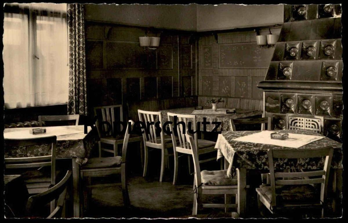 ALTE POSTKARTE HO-GASTSTÄTTE AUERSBERG Speisezimmer verm. Johanngeorgenstadt AK Ansichtskarte postcard cpa