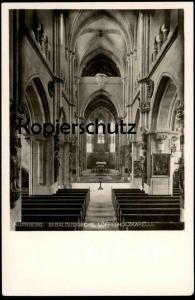 ALTE POSTKARTE NÜRNBERG SEBALDUSKIRCHE LÖFFELHOLZKAPELLE Inneres interior view vue intérieure Ansichtskarte postcard cpa