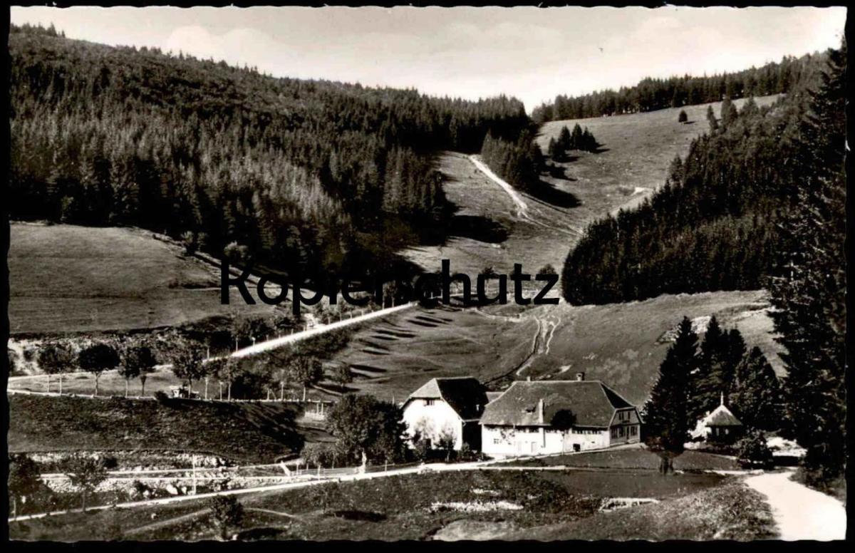 ALTE POSTKARTE SIRNITZ GASTHAUS ZUM AUERHAHN bei Badenweiler Schwarzwald Ansichtskarte postcard cpa