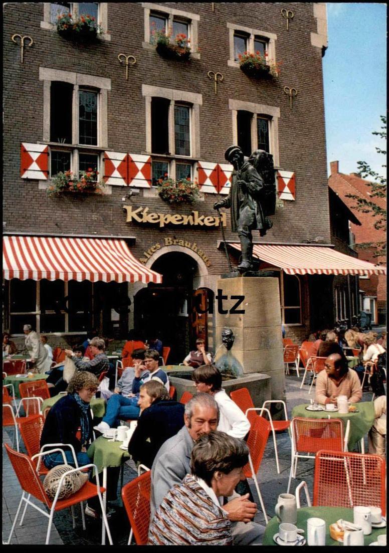 ÄLTERE POSTKARTE MÜNSTER WESTFALEN AM KIEPENKERL BRAUHAUS Brauerei Brewery postcard cpa Ansichtskarte AK