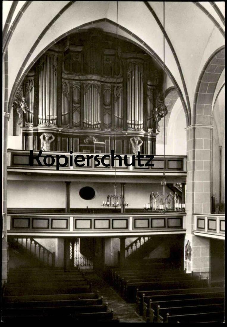 ÄLTERE POSTKARTE HAVELBERG St. Laurentius Kirche Wagner Scholtze Orgel interieur l´eglise orgue organ cpa postcard AK