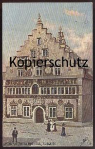 ALTE POSTKARTE OILETTE RAPHAEL TUCK Postcard LINDAUS ALTES RATHAUS Serie Lindau No. 736