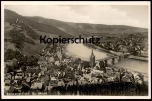 ALTE POSTKARTE BERNCASTEL-CUES DIE MOSEL Bernkastel-Kues Verlag Emil Günther Ansichtskarte AK cpa postcard