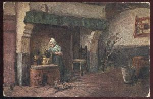 ALTE POSTKARTE OILETTE RAPHAEL TUCK Tucks postcard Teekanne 1530 Ansichtskarte cpa AK