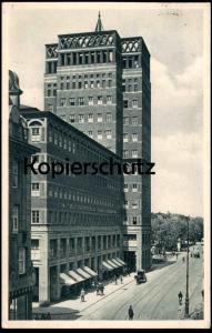 ALTE POSTKARTE DÜSSELDORF WILHELM MARX HAUS ERBAUT VON PROF. KREIS 1922-24 ARCHITEKT ARCHITEKTUR architecture postcard