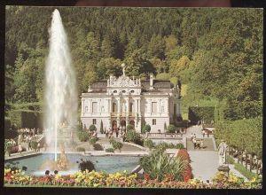 POSTKARTE König Ludwig II. von Bayern Schloss Linderhof Ettal Castle Château Ansichtskarte AK postcard cpa