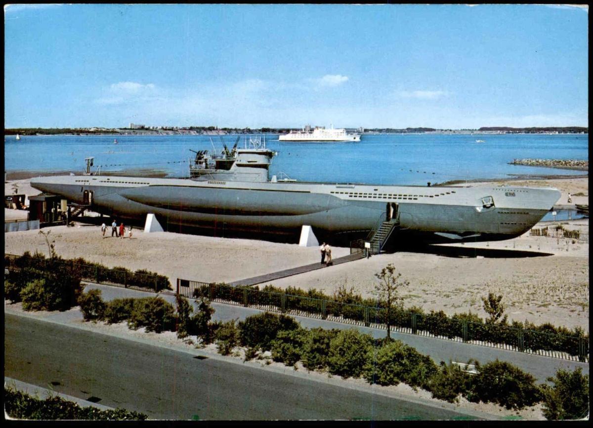 POSTKARTE U-BOOT U 995 Laboe Marine Unterseeboot Schiff Submarine sous-marin cpa U-Boat postcard AK Ansichtskarte