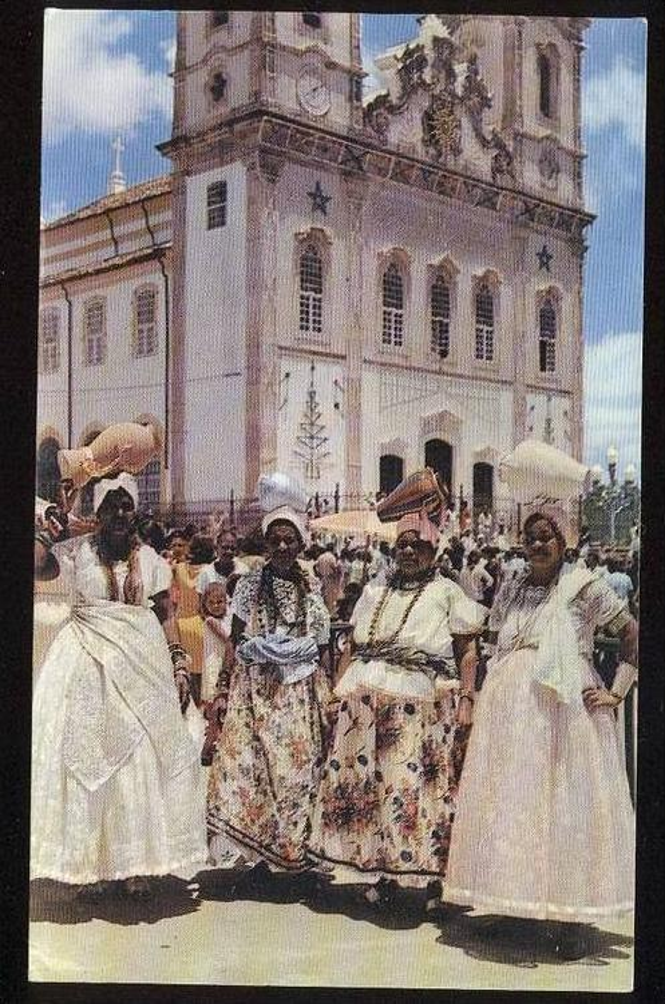 POSTKARTE SAN SALVADOR BAHAMAS FESTA TRADICIONAL TRACHT Costume Folklorique Traditional Style cpa postcard Ansichtskarte