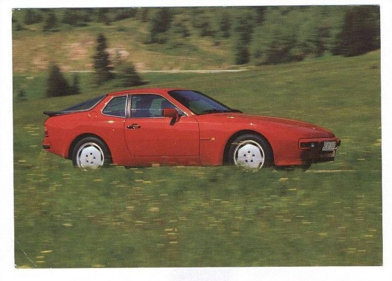ÄLTERE POSTKARTE PORSCHE 944 Auto car cpa postcard Ansichtskarte AK