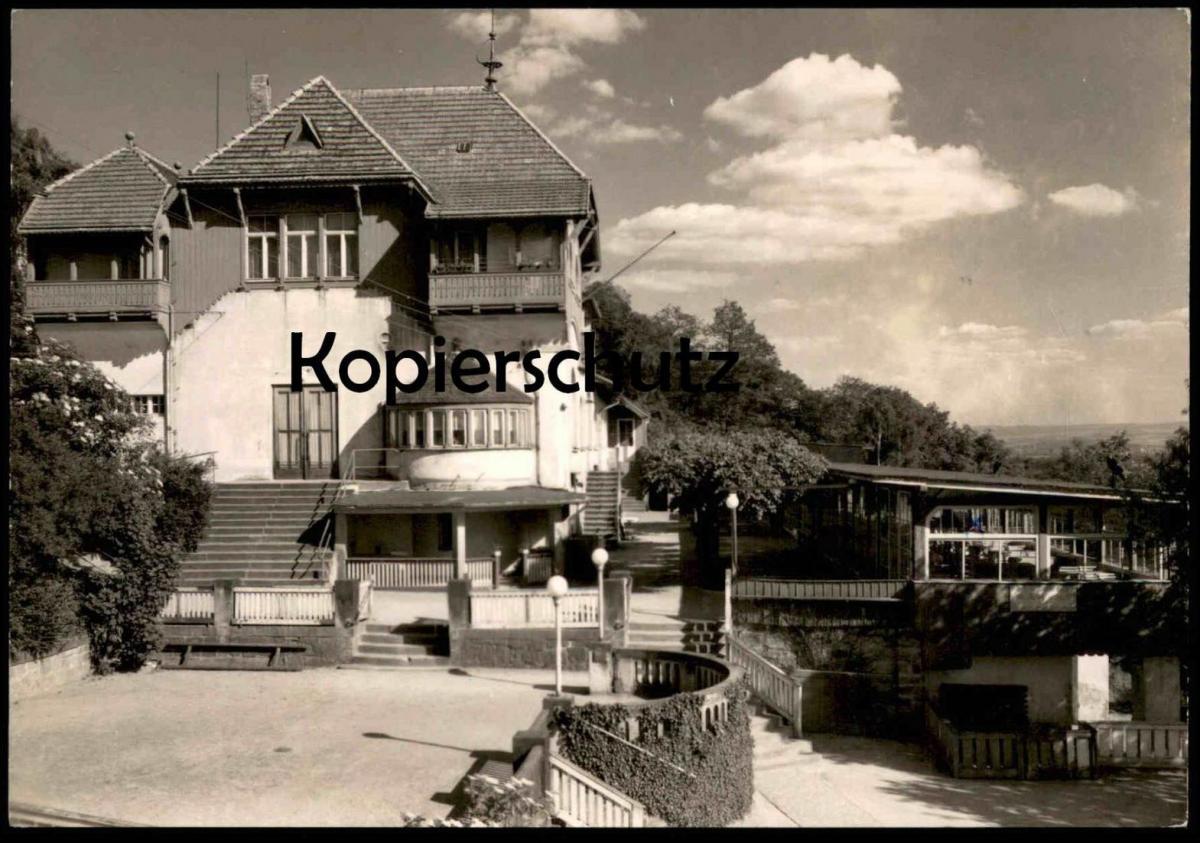 ÄLTERE POSTKARTE DRESDEN HO-GASTSTÄTTE LOSCHWITZHÖHE Restaurant Loschwitzhöhe Weisser Hirsch cpa postcard Ansichtskarte