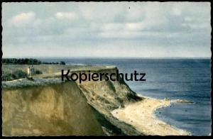 ÄLTERE POSTKARTE TRAVEMÜNDE BRODTENER UFER beach plage Lübeck Luebeck-Travemuende coast cpa postcard AK Ansichtskarte