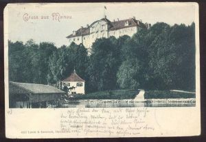ALTE POSTKARTE GRUSS AUS MAINAU 1899 BODENSEE Litzelstetten-Mainau Konstanz cpa postcard AK Ansichtskarte