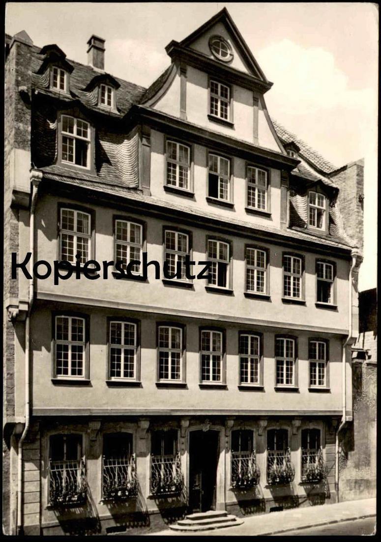 ÄLTERE POSTKARTE FRANKFURT AM MAIN GOETHE HAUS House of Johann Wolfgang Goethe Goethehaus Poet Dichter cpa postcard AK