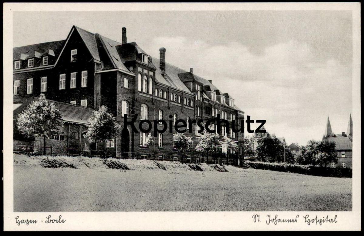 Alte Postkarte Hagen Boele St Johannes Hospital Krankenhaus Hopital