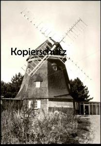 ÄLTERE POSTKARTE GNOIEN KREIS TETEROW GASTSTÄTTE ZUR WINDMÜHLE Mühle Molen Mole moulin windmill mill AK Ansichtskarte