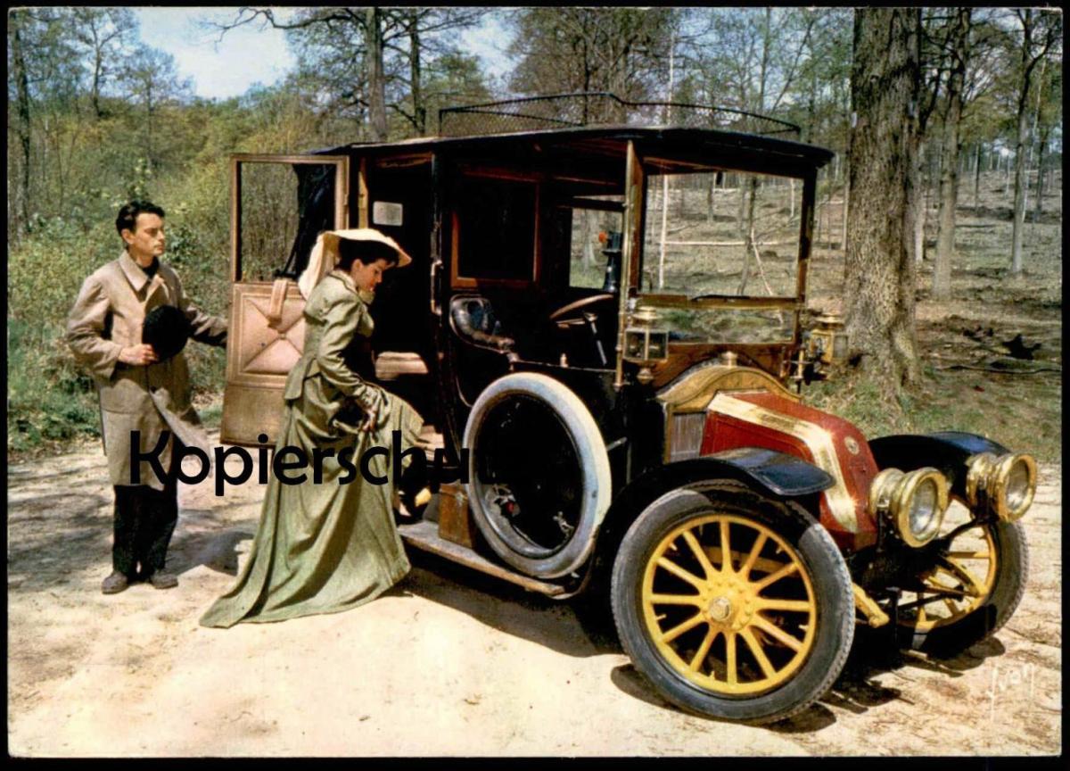 POSTKARTE RENAULT oldtimer old car Auto Voiture AK Ansichtskarte cpa postcard
