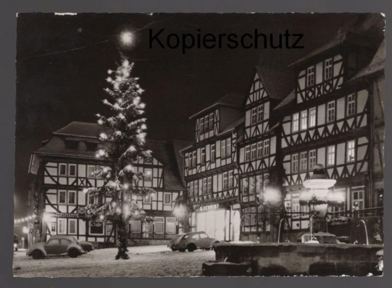ltere postkarte bad sooden allendorf marktplatz. Black Bedroom Furniture Sets. Home Design Ideas