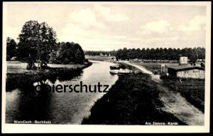ALTE POSTKARTE WENDISCH-BUCHHOLZ AM DAHME-KANAL canal Märkisch cpa AK Ansichtskarte postcard