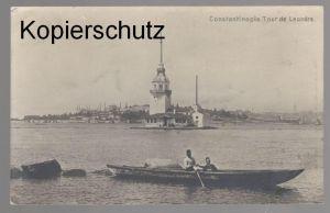 ALTE POSTKARTE CONSTANTINOPLE TOUR DE LEANDRE Konstaninopel Istanbul Ansichtskarte postcard AK cpa