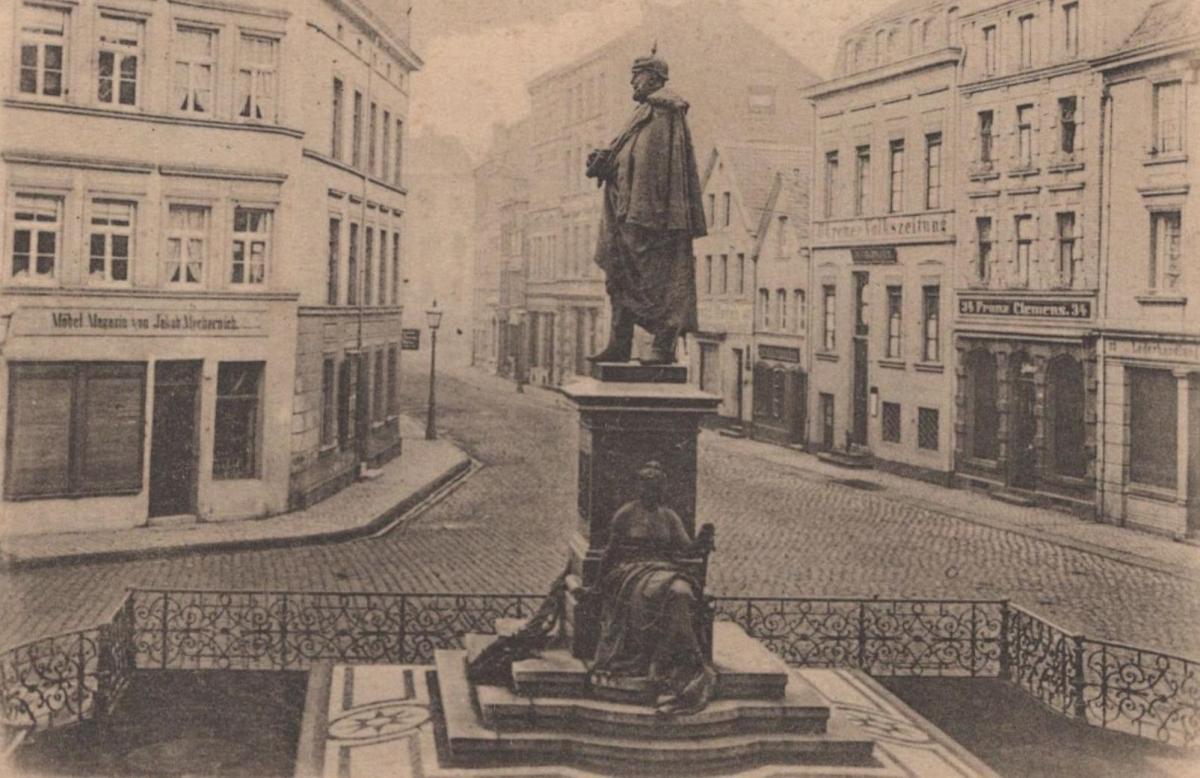 Alte Postkarte Gruss Aus Duren Durener Volkszeitung Franz Clemens