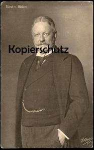ALTE POSTKARTE FÜRST V. BÜLOW Generalfeldmarschall Karl von Bülow cpa AK Ansichtskarte postcard