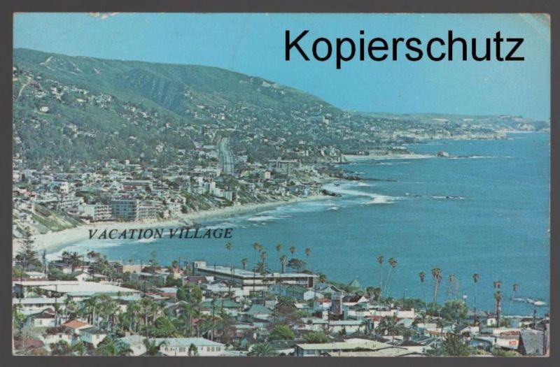 ÄLTERE POSTKARTE VACATION VILLAGE California Kalifornien AK postcard Ansichtskarte cpa