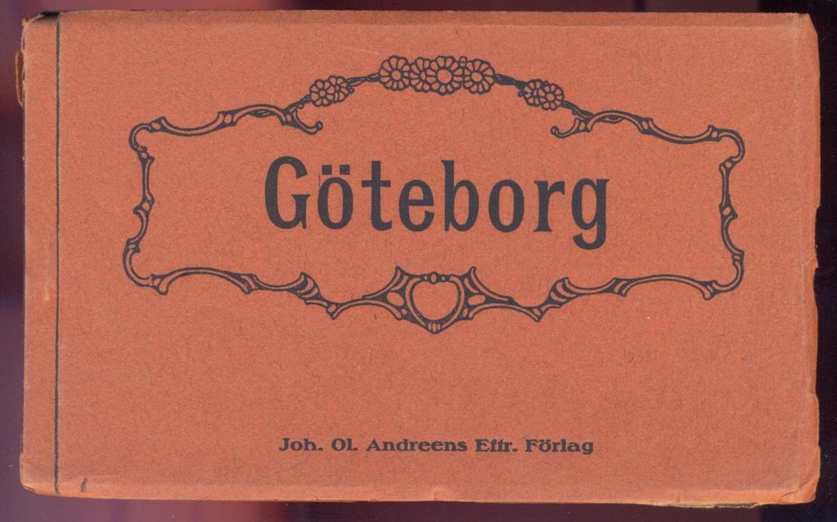 ALTES LEPORELLO GÖTEBORG 10 POSTKARTEN KOMPLETT Sverige Skansen Kronan Gamla Elfsborgs Fästning Hamngatorna sweden cpa