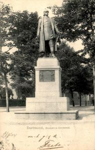 ALTE POSTKARTE DORTMUND BISMARCK-DENKMAL 1904 SÜDWALL monument Ansichtskarte AK postcard cpa