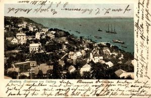 ALTE POSTKARTE HAMBURG BLANKENESE VOM SÜLLBERG 1904 Ansichtskarte postcard cpa