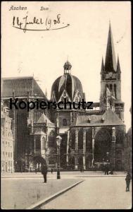 ALTE POSTKARTE AACHEN DOM 1908 Aix-la-Chapelle Kirche Ansichtskarte AK cpa postcard