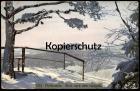 ALTE POSTKARTE PFAFFENSTEIN BLICK NACH GORISCH Gohrisch Winter Schnee Lilienstein Photochromie Ansichtskarte postcard AK