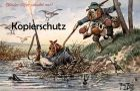 ALTE POSTKARTE DACKEL JÄGER JAGD HUMOR ARTHUR THIELE hunter chasseur teckel basset dachshund dog frog Frosch grenouille