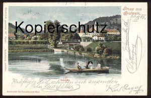 ALTE POSTKARTE GRUSS AUS GRATWEIN OSTSEITE 1903 bei Graz Steiermark Österreich Austria Verlag Schwidernoch cpa postcard