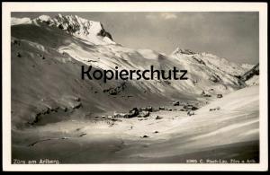 ALTE POSTKARTE ZÜRS AM ARLBERG Risch-Lau Winter Schnee hiver cpa postcard AK Ansichtskarte