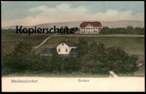 ALTE POSTKARTE WALDNEUKIRCHEN CURHAUS Ansichtskarte postcard AK cpa