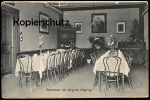 ALTE POSTKARTE MÜLHAUSEN GREFRATH SPEISESAAL DER JÜNGEREN ZÖGLINGE PENSIONAT UNSERER LIEBEN FRAU postcard Ansichtskarte