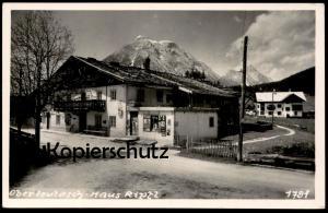 ALTE POSTKARTE OBERLEUTASCH HAUS RIPFL KIOSK TIROL Leutasch Ansichtskarte AK cpa postcard