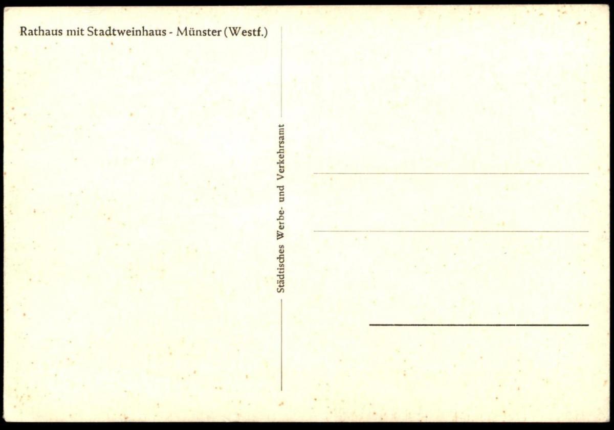 ÄLTERE POSTKARTE MÜNSTER IN WESTFALEN BUNDESTREFFEN AFRIKAKORPS 1960 Ansichtskarte cpa postcard AK 1